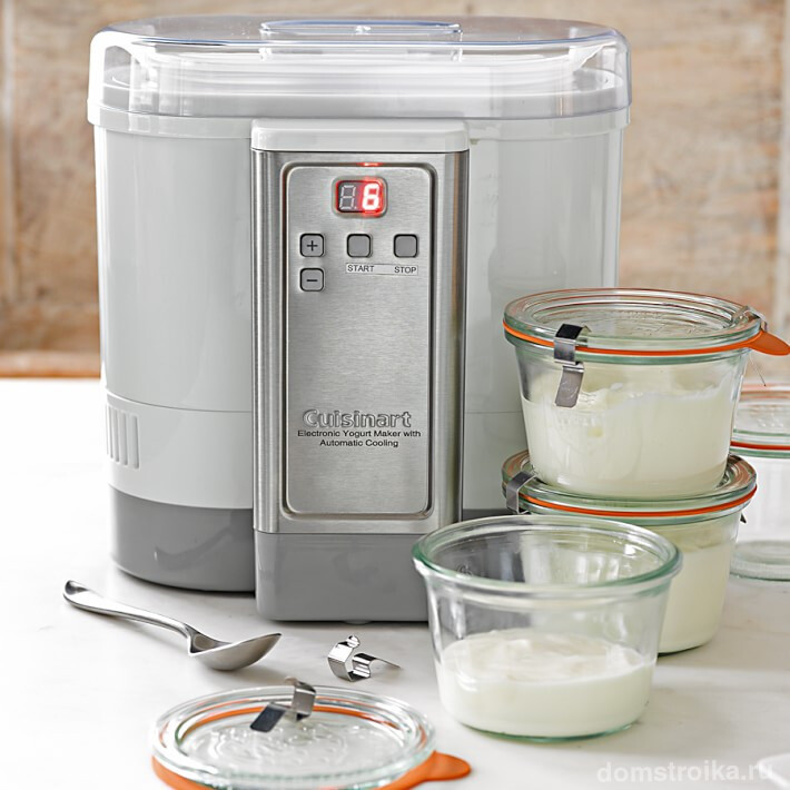 Автоматическая йогуртница Cuisinart Electric Yogurt Maker CYM-100