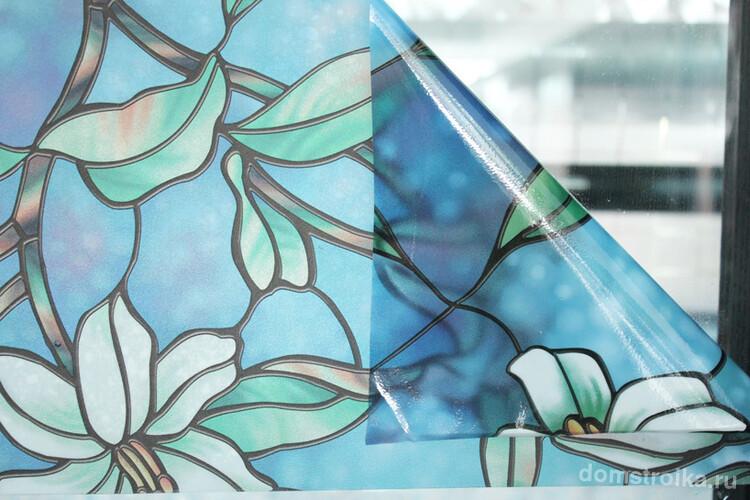 Пленка с картинками на стекло