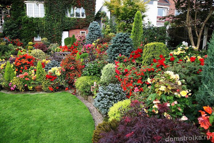 Миксбордеры из многолетников, окаймляющие садовые дорожки — настоящая находка для тех, кто хочет чтобы его сад всегда выглядел великолепно